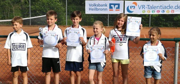 Bezirksfinale: VR Talentiade Midcourt